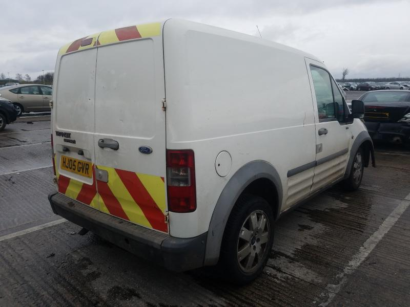 Used Car Parts Foto 3 Ford TRANSIT CONNECT 2005 1.8 Mechanical Commercial 2/3 d. white 2021-1-12 A6025