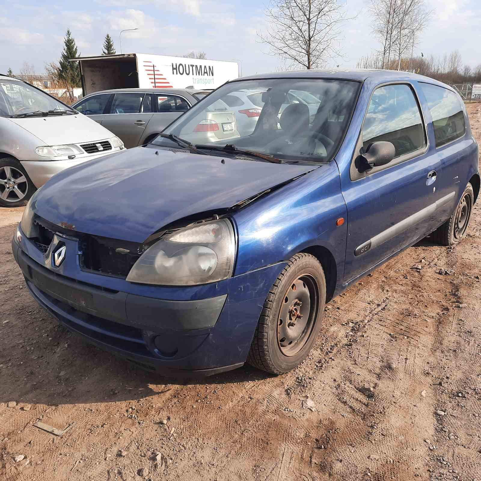 Foto-3 Renault Clio Clio, 2001.05 - 2004.11 facelift 2002 Diesel 1.5