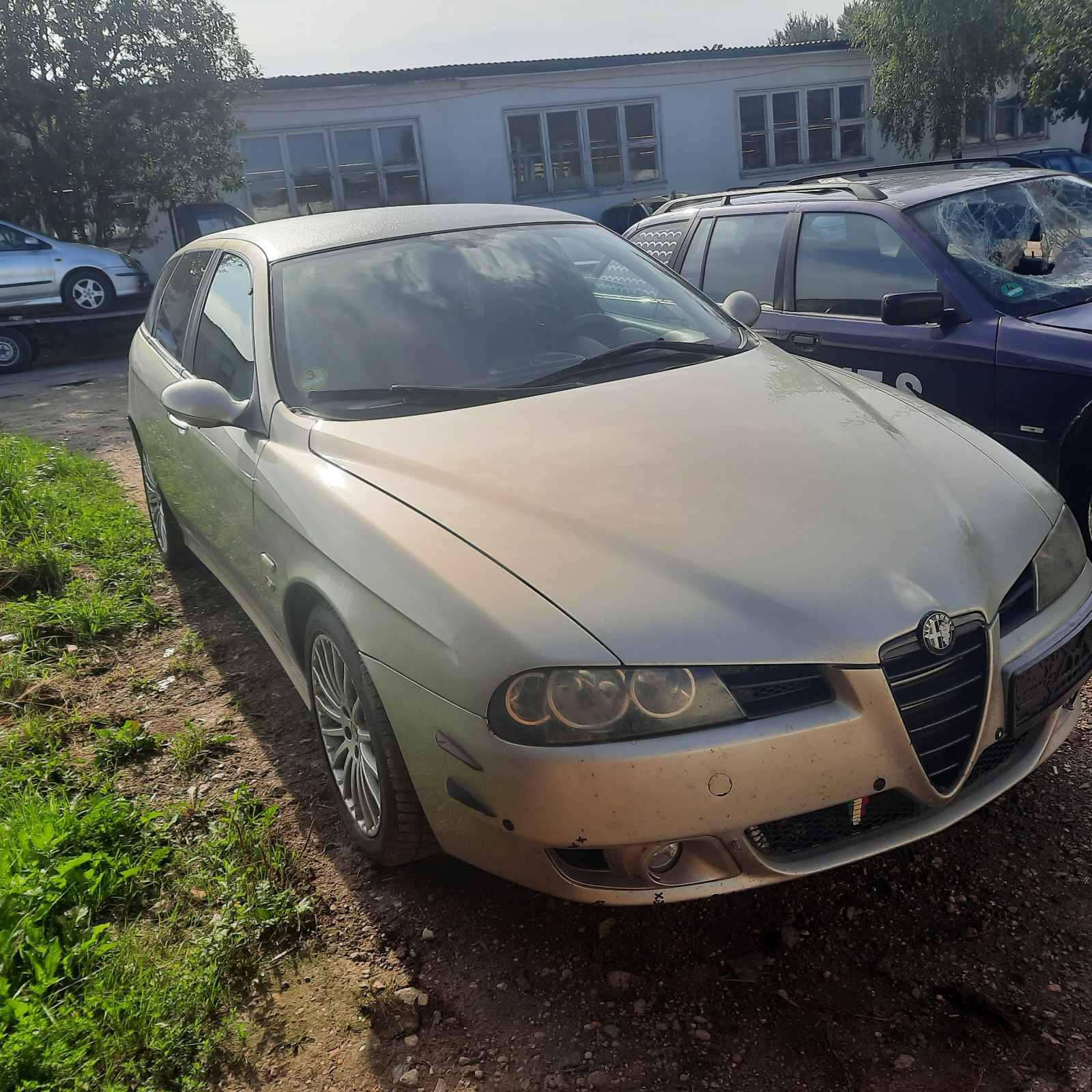 Naudotos automobilio dalys Alfa-Romeo 156 2004 2.4 Mechaninė Universalas 4/5 d. Pilka 2021-8-14