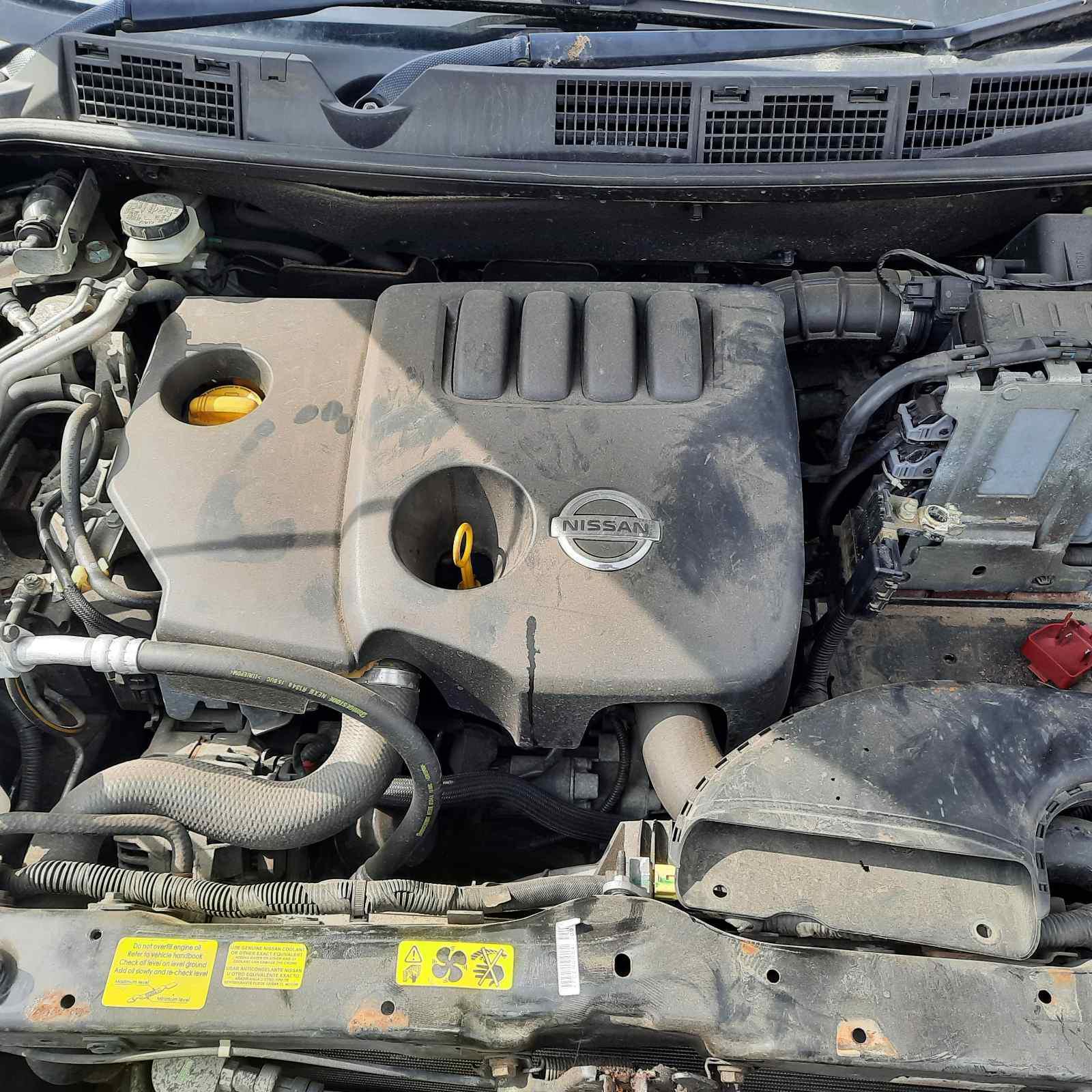 Naudotos automobiliu dallys Foto 2 Nissan QASHQAI 2009 1.5 Mechaninė Visureigis 4/5 d. Juoda 2021-4-29 A6178