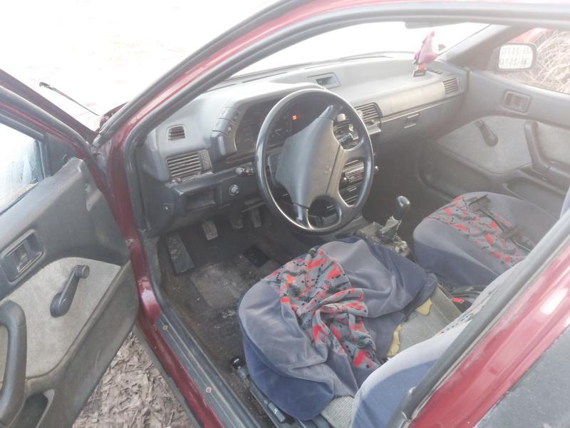 Naudotos automobilio dalys Mitsubishi LANCER 1991 1.5 Mechaninė Hečbekas 4/5 d. Raudona 2020-12-01