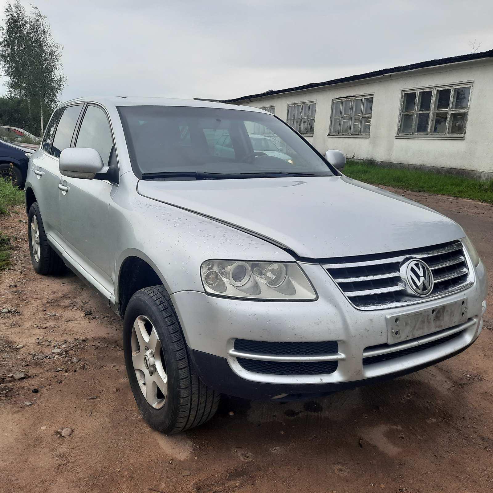 Naudotos automobilio dalys Volkswagen TOUAREG 2005 2.5 Mechaninė Visureigis 4/5 d. Pilka 2021-8-20