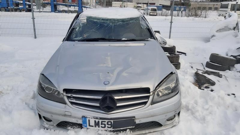 Naudotos automobiliu dallys Foto 2 Mercedes-Benz CLC-CLASS 2009 2.2 Mechaninė Kupė 2/3 d. Sidabrine 2021-2-03 A6051