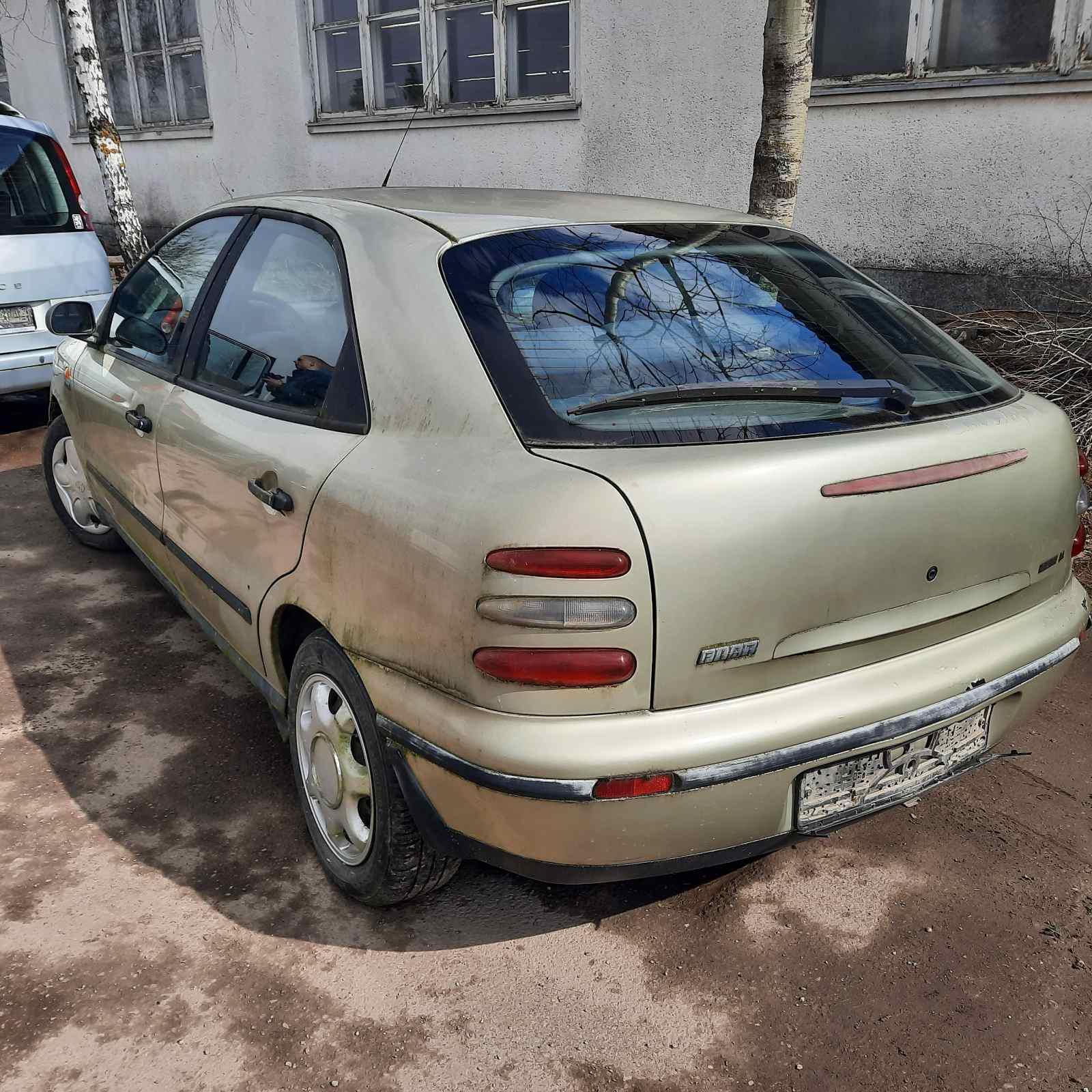 Подержанные Автозапчасти Foto 7 Fiat BRAVA 1996 1.9 машиностроение хэтчбэк 4/5 d. желтый 2021-4-07 A6134