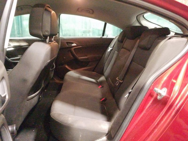 Naudotos automobilio dalys Opel INSIGNIA 2009 1.8 Mechaninė Hečbekas 4/5 d. Raudona 2021-1-11