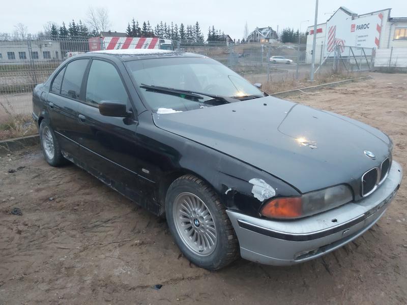 Naudotos automobilio dalys BMW 5-SERIES 2000 3.0 Mechaninė Sedanas 4/5 d. Juoda 2020-12-04