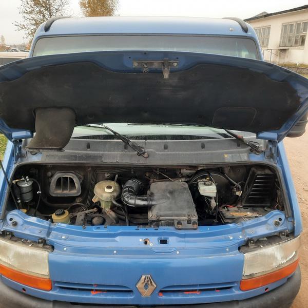 Naudotos automobiliu dallys Foto 8 Renault MASTER 2002 2.2 Mechaninė Krovininis mikroautobusas 2/3 d. Melyna 2021-10-14 A6744