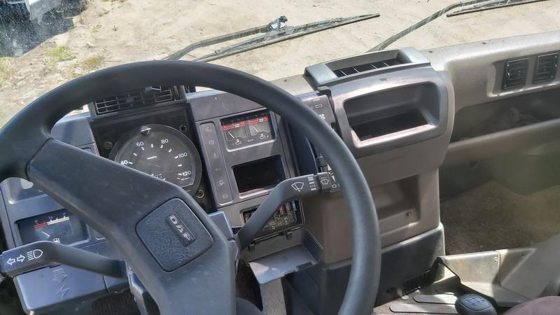 Naudotos automobiliu dallys Foto 5 Truck - DAF 45 1992 0.0 Mechaninė Sunkvezimis 2/3 d. Balta 2021-6-10 A6296