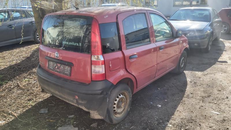Подержанные Автозапчасти Foto 8 Fiat PANDA 2006 1.1 машиностроение хэтчбэк 4/5 d. красный 2021-5-01 A6190