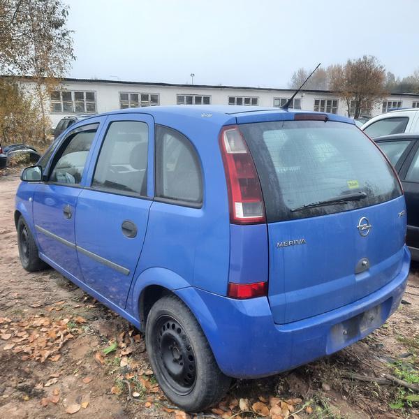 Naudotos automobiliu dallys Foto 4 Opel MERIVA 2004 1.7 Mechaninė Vienatūris 4/5 d. Melyna 2021-10-13 A6739
