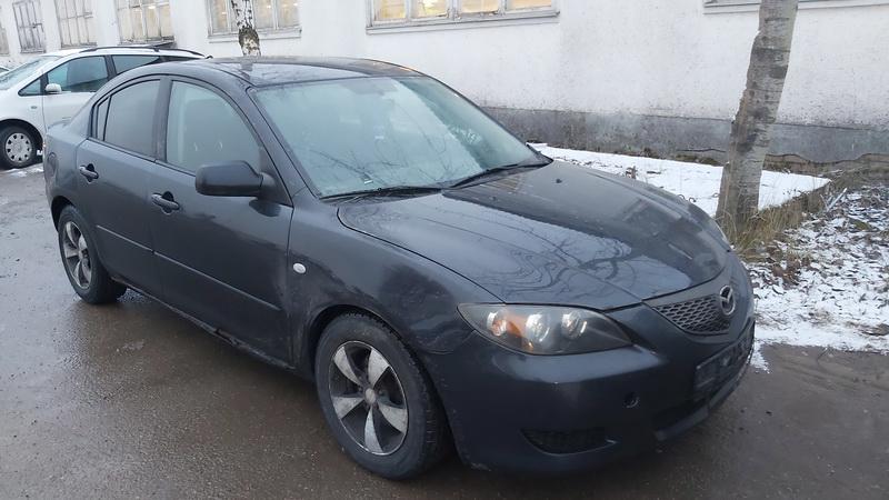 Naudotos automobilio dalys Mazda 3 2006 2.0 Mechaninė Sedanas 4/5 d. Juoda 2021-1-04