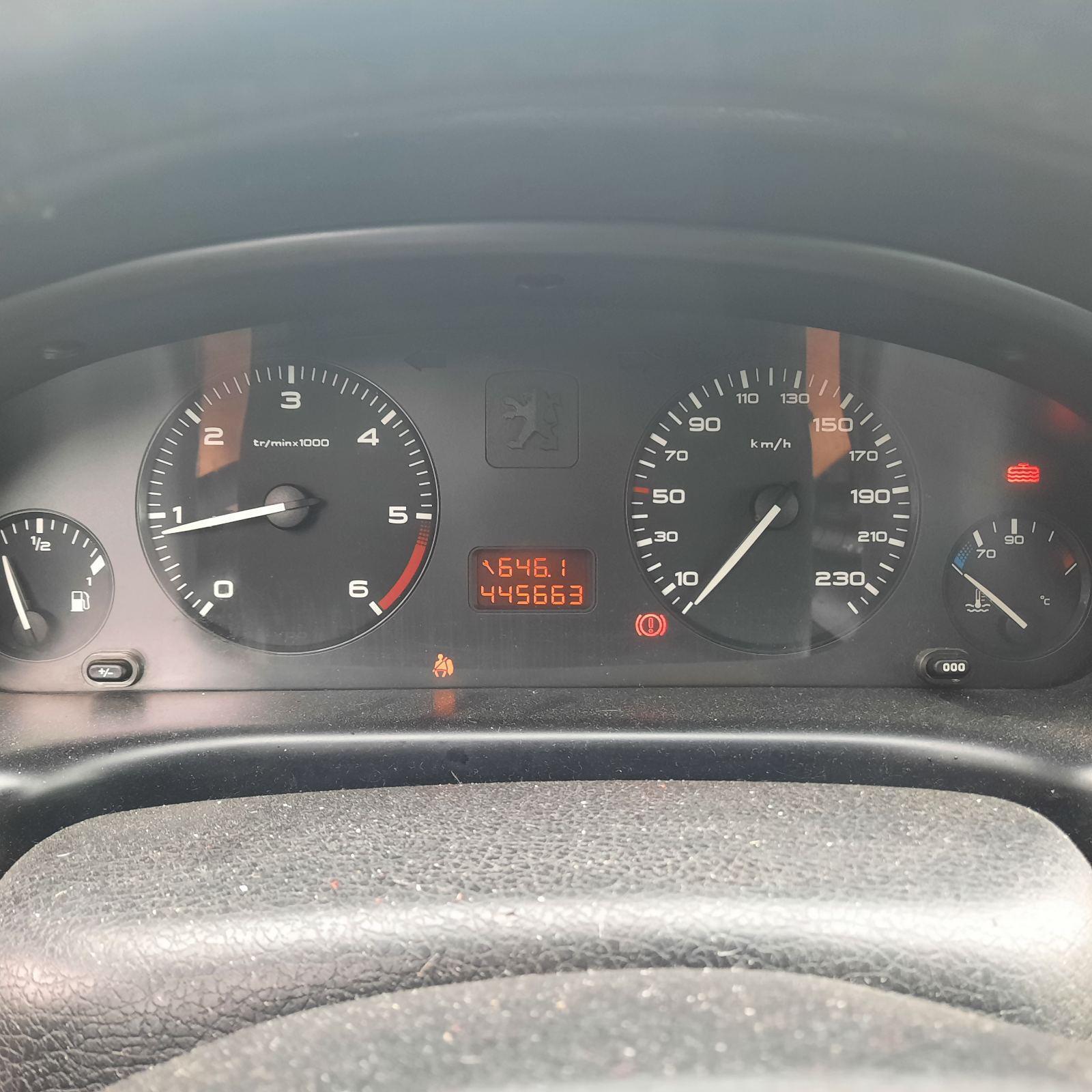 Naudotos automobilio dalys Peugeot 406 2001 2.0 Mechaninė Universalas 4/5 d. Juoda 2021-7-29