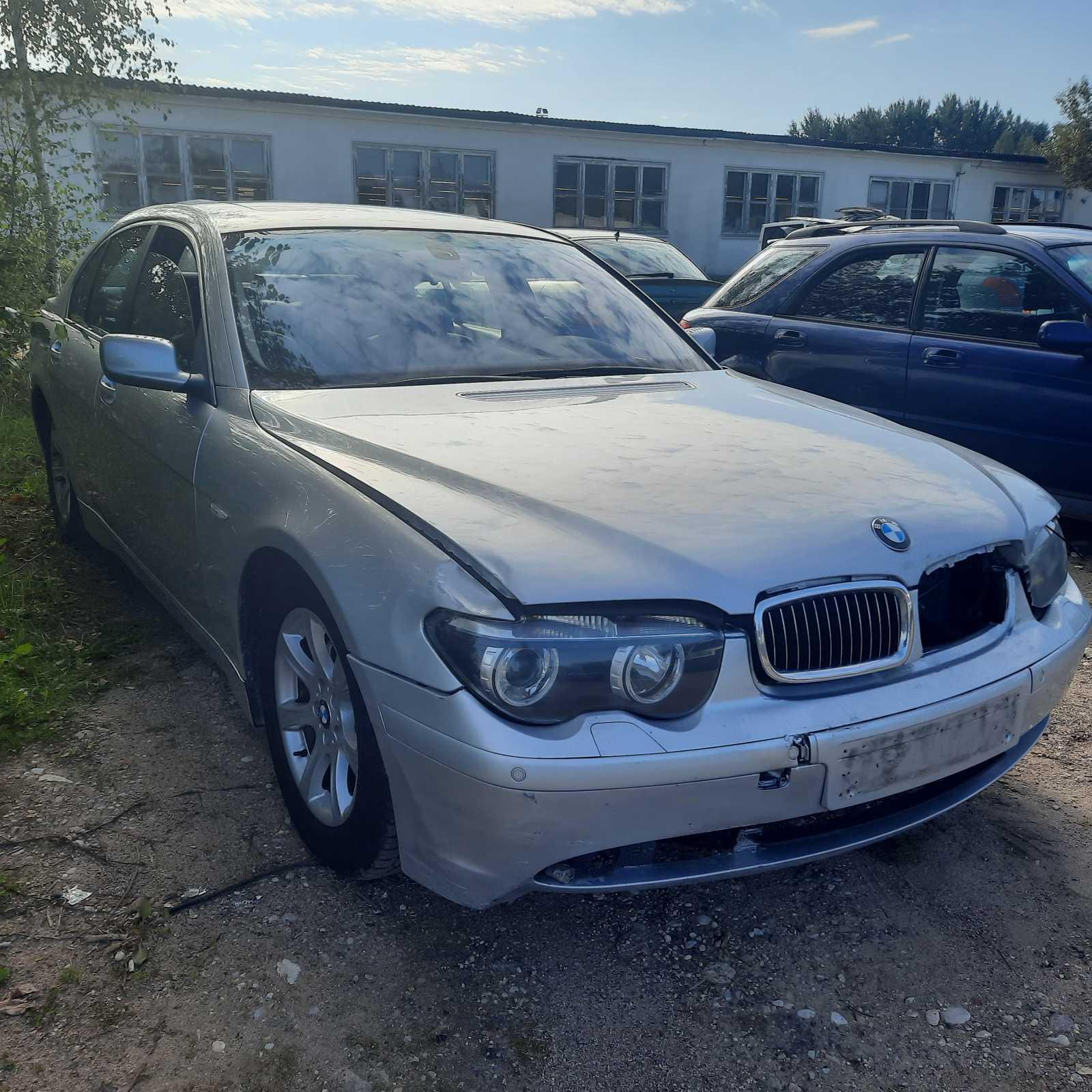 Naudotos automobilio dalys BMW 7-SERIES 2001 3.6 Automatinė Sedanas 4/5 d. Sidabrine 2021-9-07