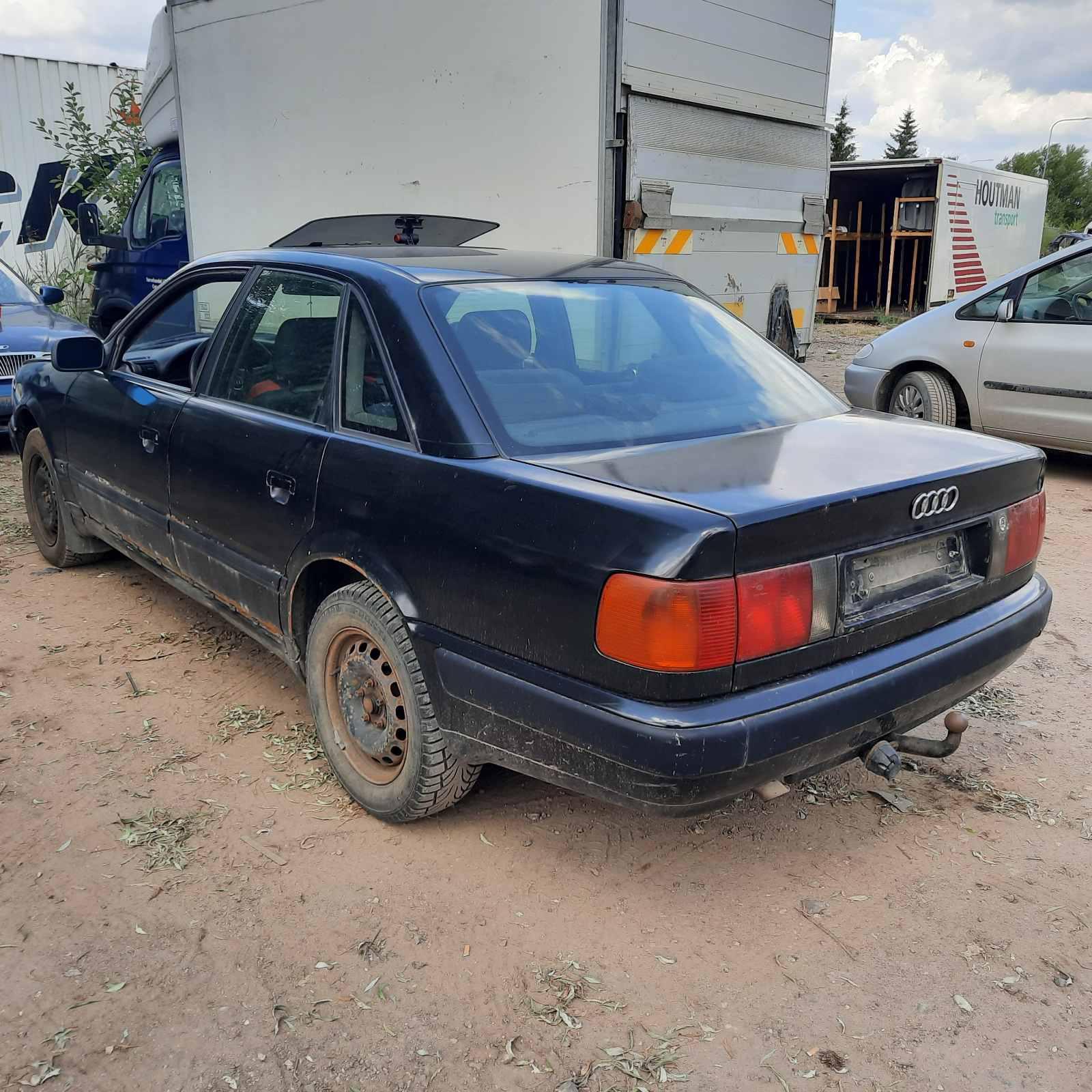 Naudotos automobiliu dallys Foto 4 Audi 100 1991 2.5 Mechaninė Sedanas 4/5 d. Juoda 2021-7-19 A6426