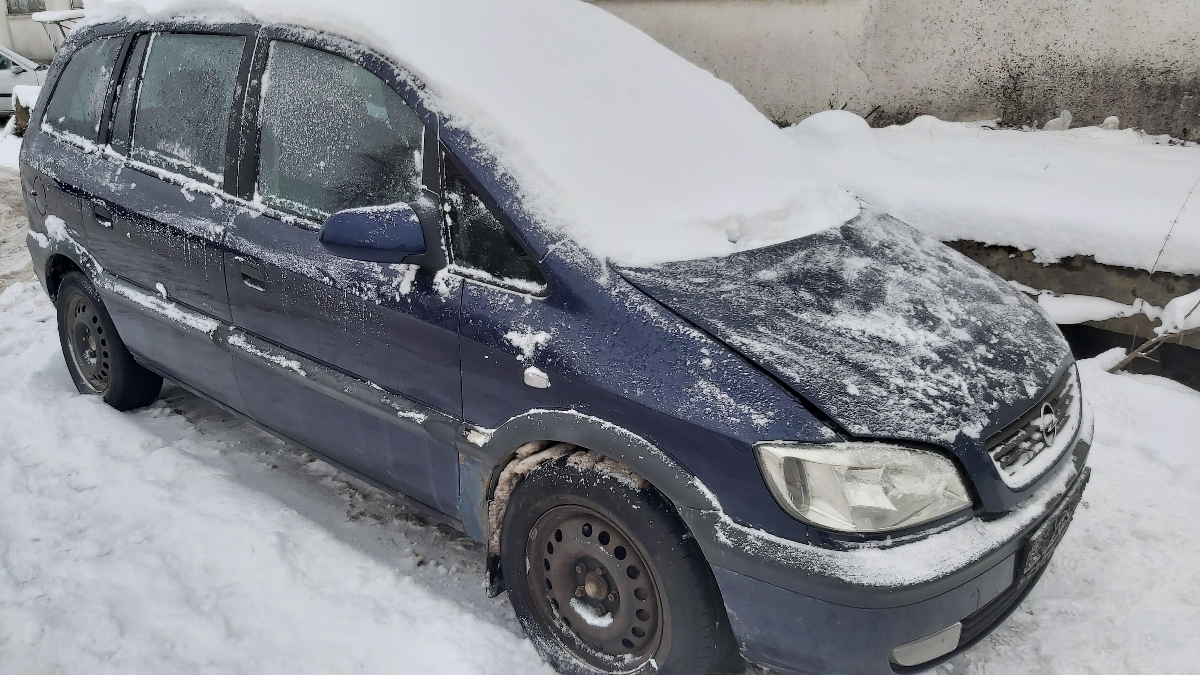 Naudotos automobilio dalys Opel ZAFIRA 2000 2.0 Mechaninė Vienatūris 4/5 d. Melyna 2021-1-08